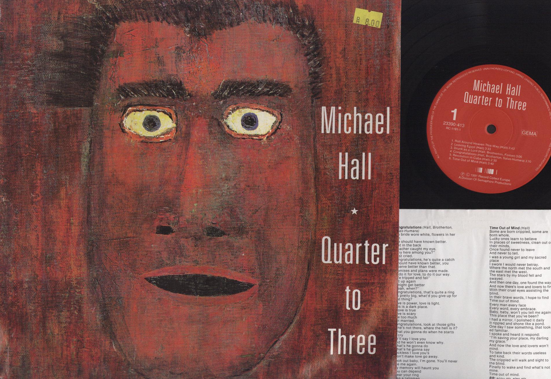 Michael Hall - Quarter To Three - 33T