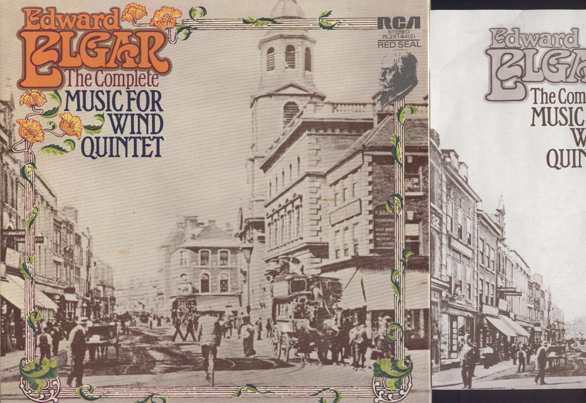 Sir Edward Elgar, Athena Ensemble - Music For Wind Quintet - LP Box Set