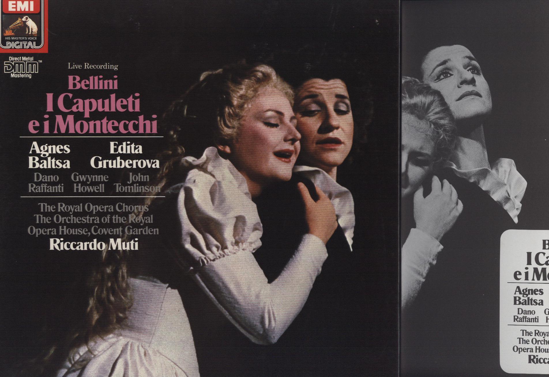Vincenzo Bellini, Agnes Baltsa, Edita Gruberova, D I Capuleti E I Montecchi
