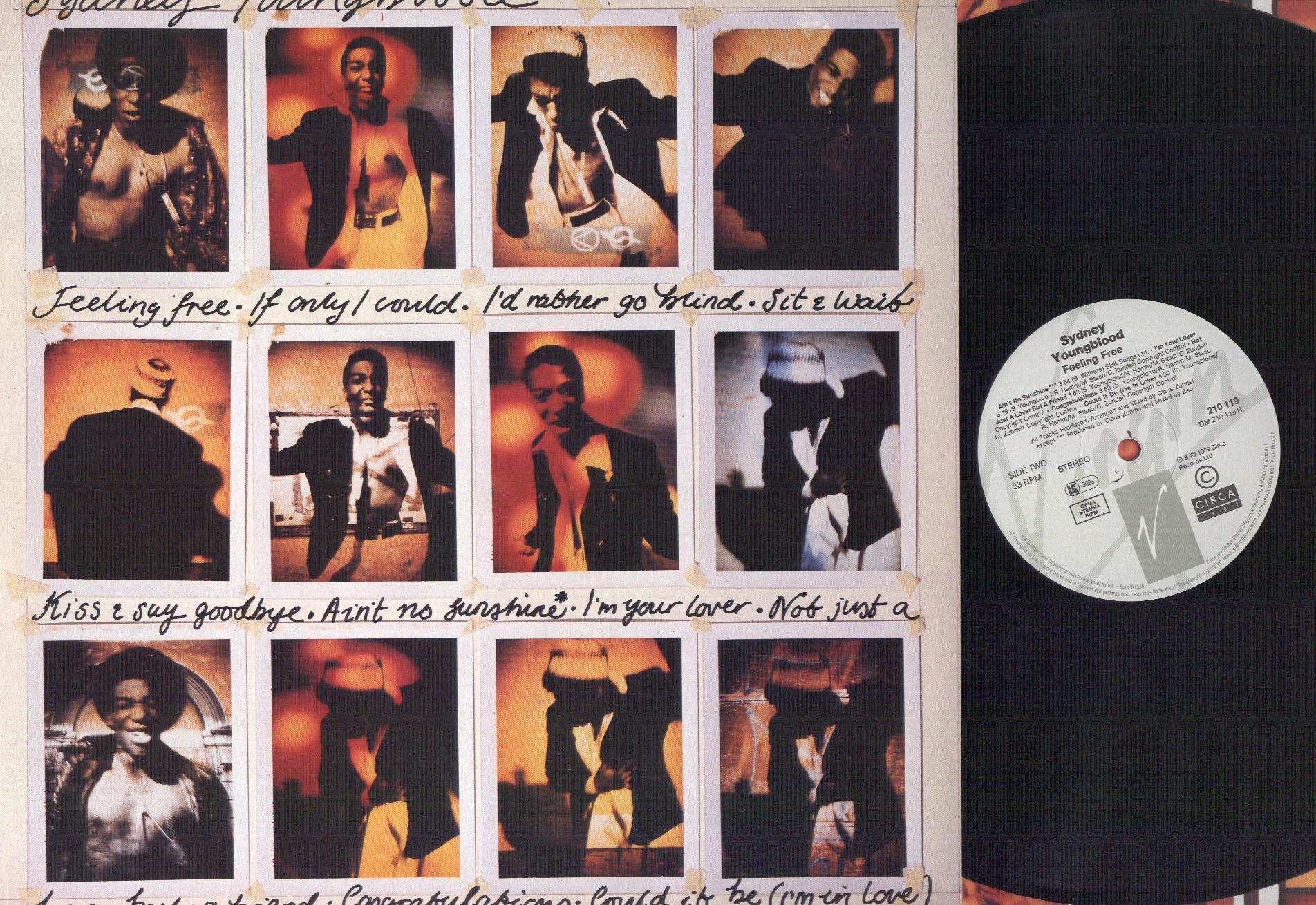 SYDNEY YOUNGBLOOD - Feeling Free - LP