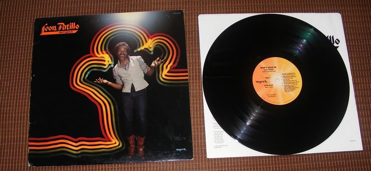 Leon Patillo - Don't Give In - LP
