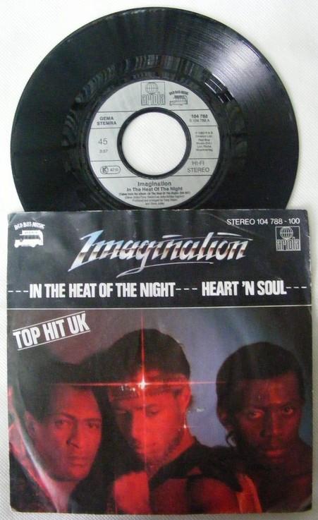 IMAGINATION - Heart N Soul - 45T x 1