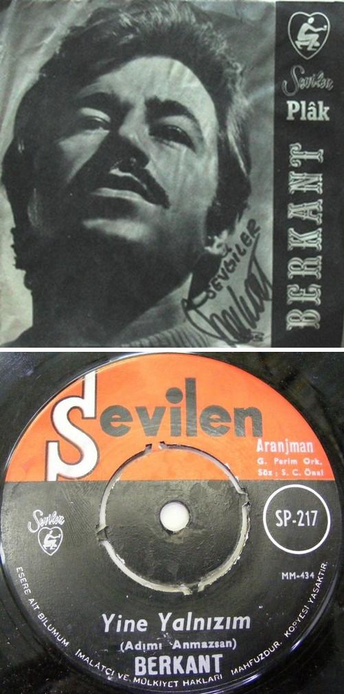 BERKANT - Arranjman - 7inch x 1